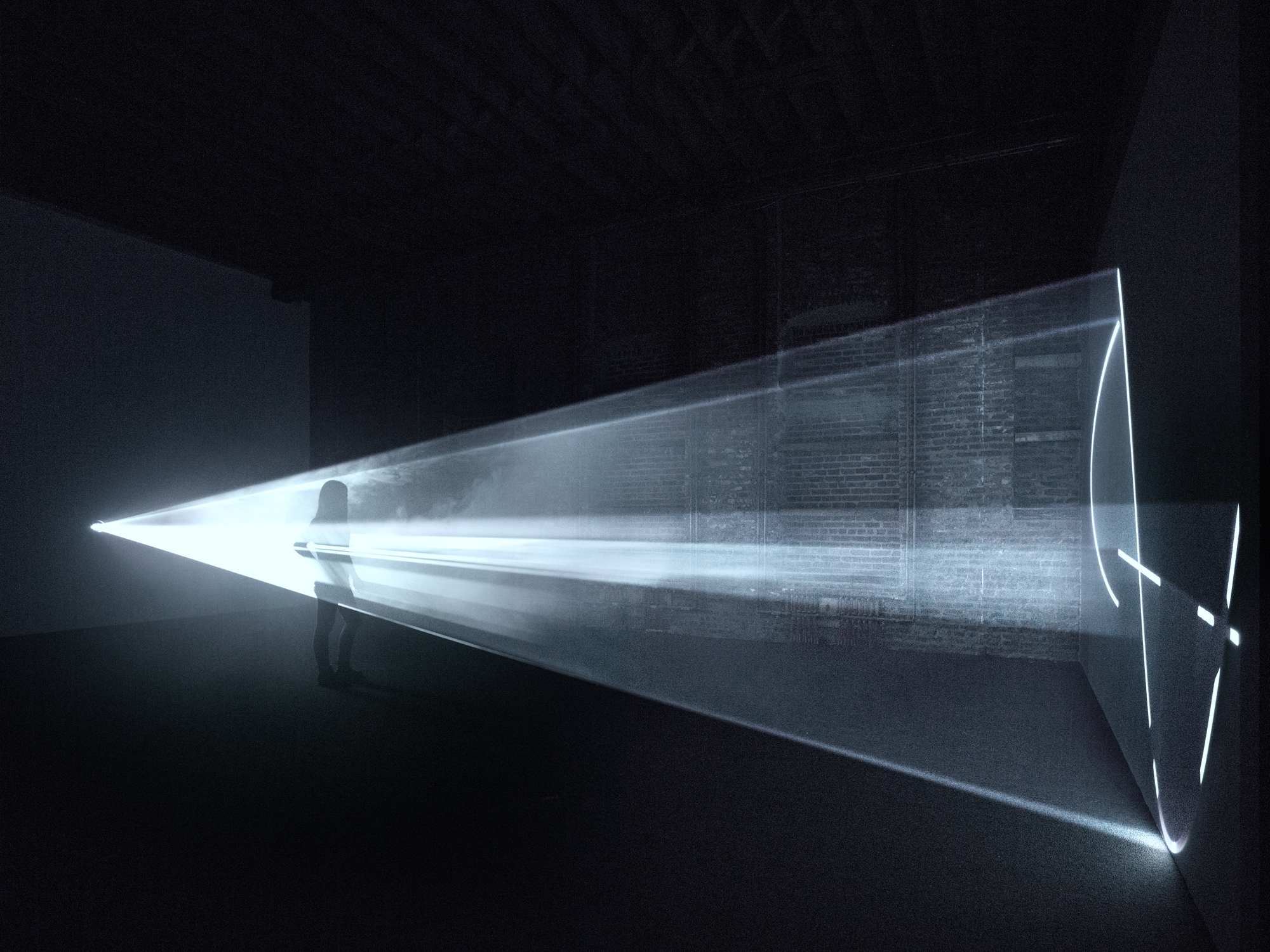 Images & Anthony McCall: Solid Light Works | Pioneer Works