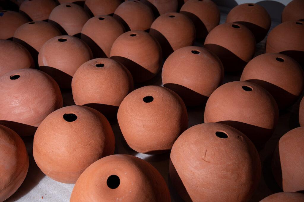 Image of many moon jars